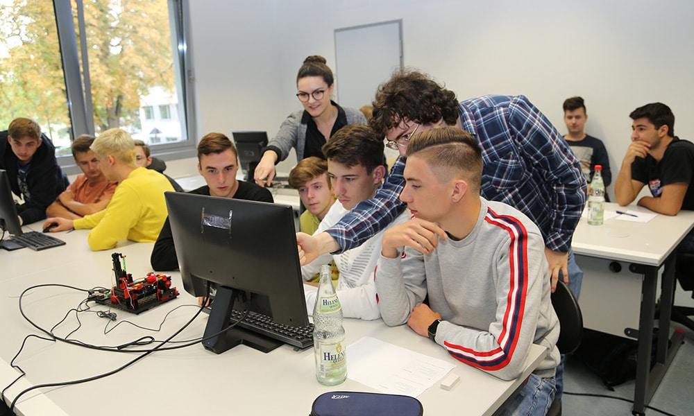 Workshop mit Schülern Informatik